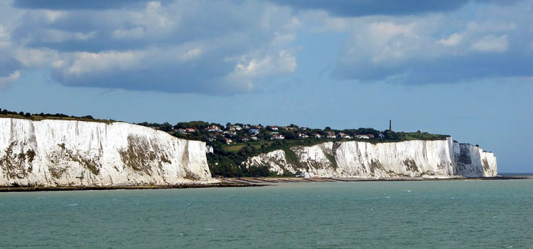 The English Channel near Dover